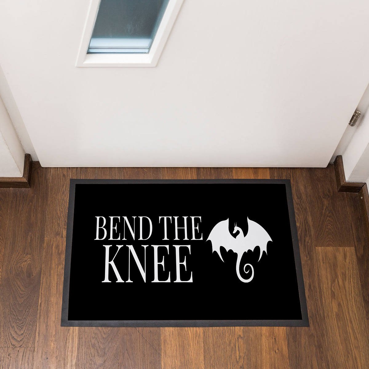 Bend The Knee Fußmatte Design