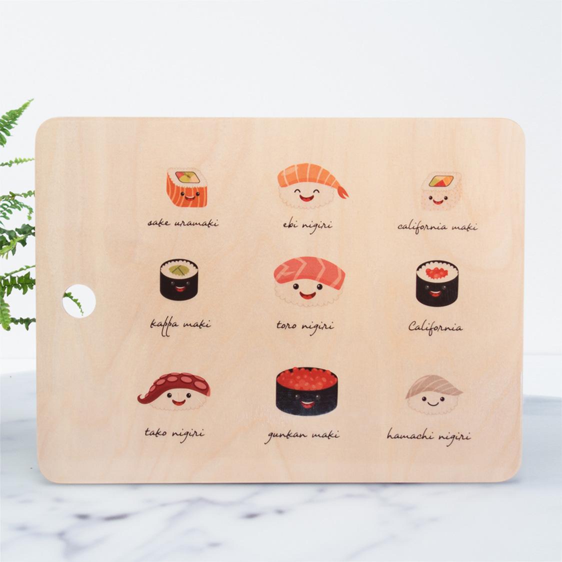 Schneidebrett Sushi