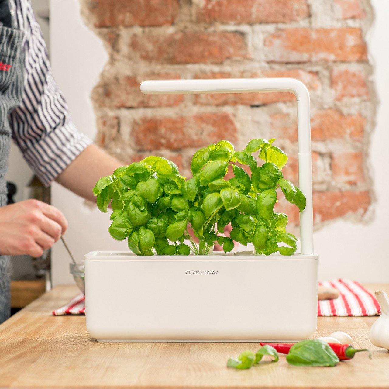 Click Grow Smarter Kräutergarten für drinnen 3.0