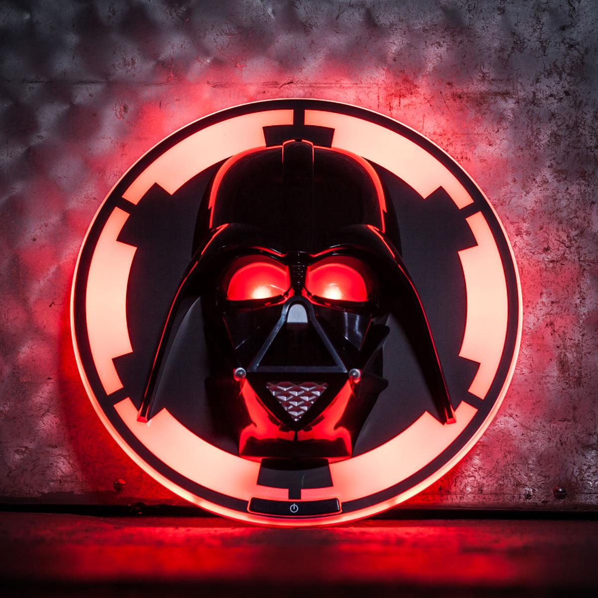 Star Wars Darth Vader 3D Wandleuchte