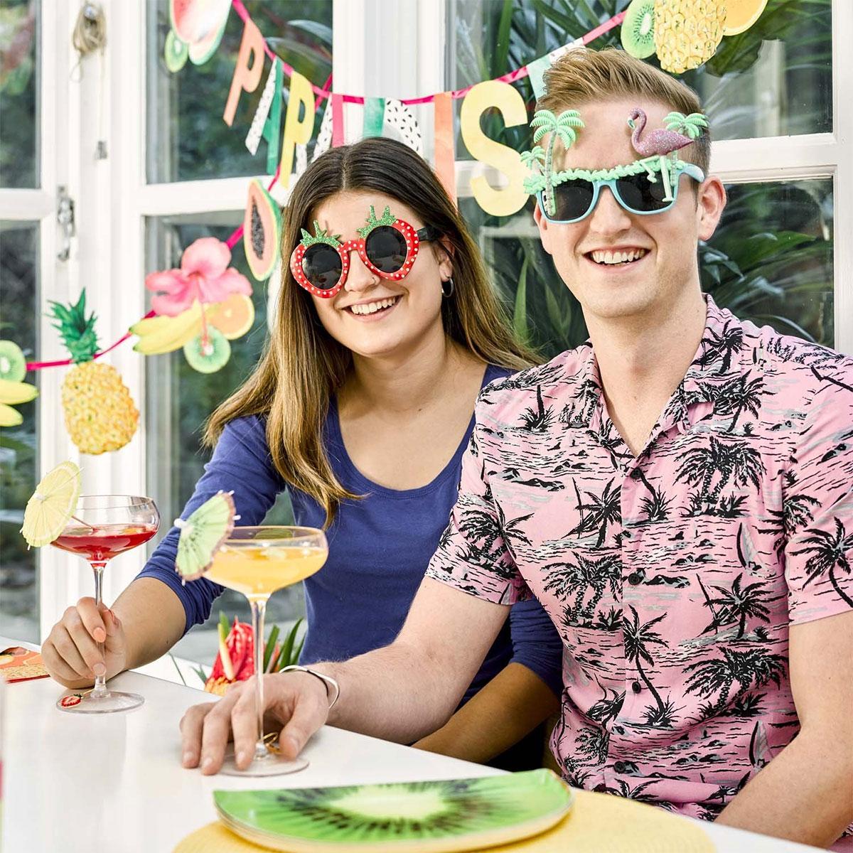 Erdbeeren Sonnenbrille