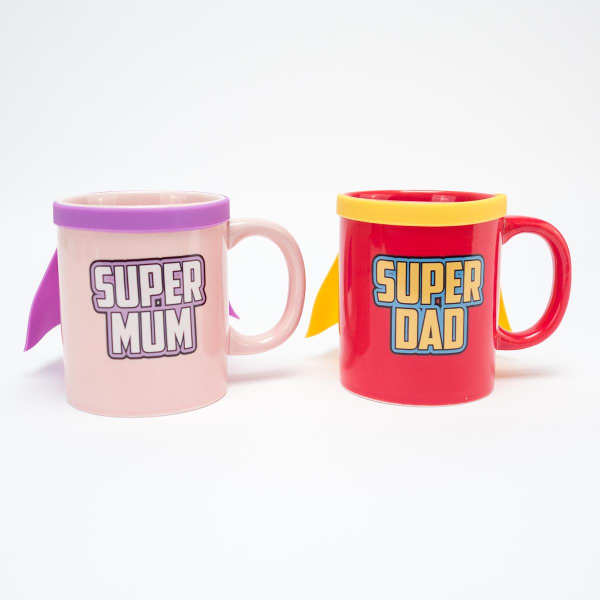 Super Mum Super Dad Tasse Super Dad