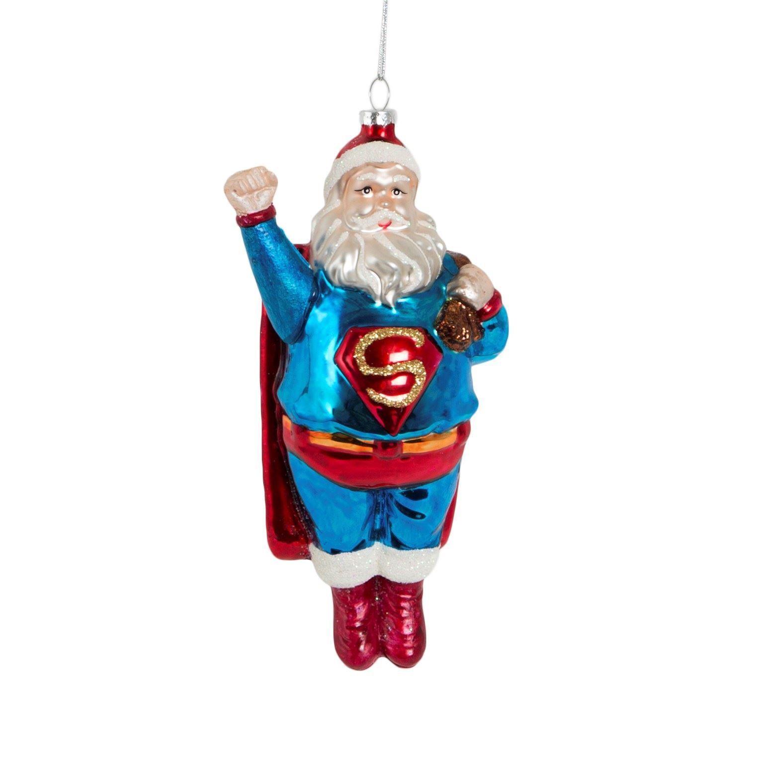 Super Santa Christbaumschmuck