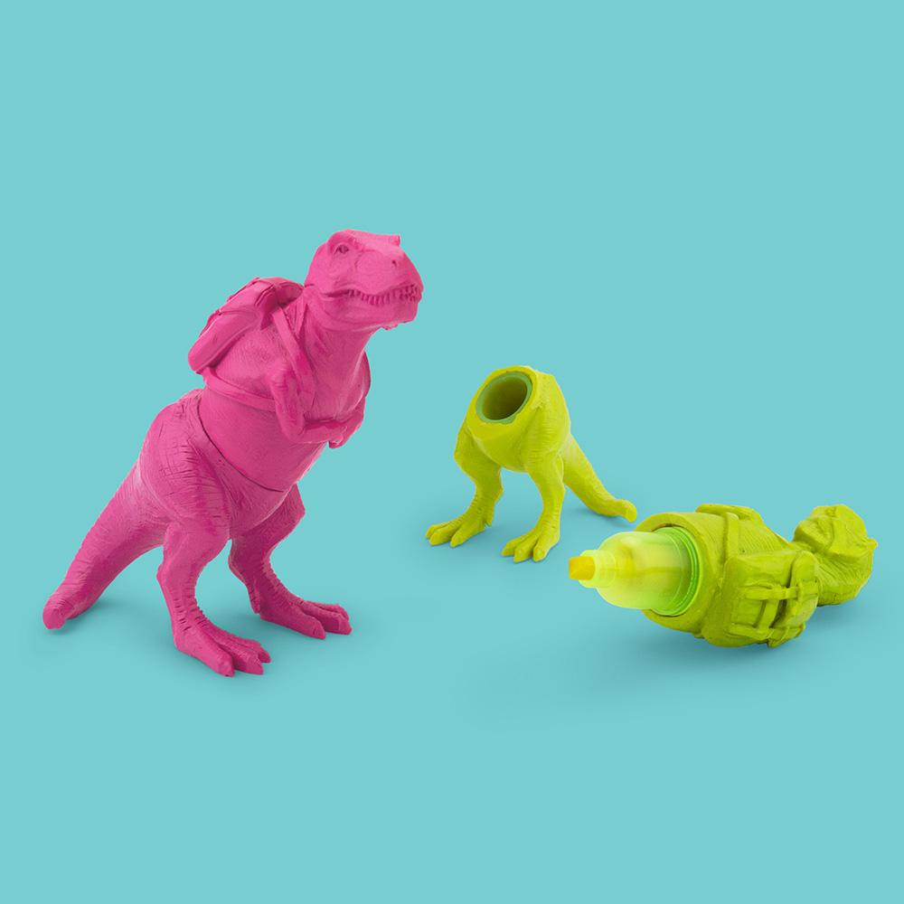 T Rex Textmarker Pink