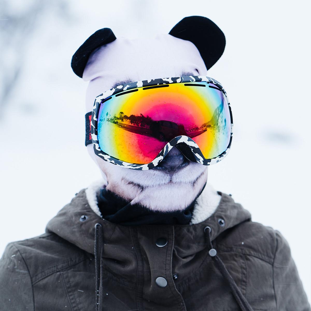 Beardo Tierische Sturmhauben Skimasken Orang Utan