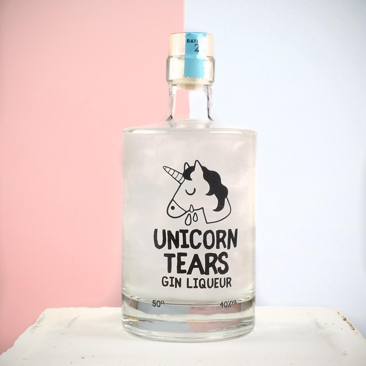 einhorn alkohol unicorn tears gin. Black Bedroom Furniture Sets. Home Design Ideas