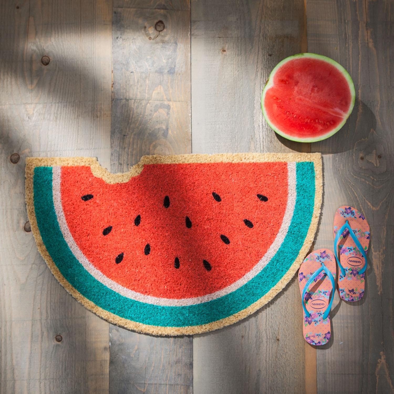 Südfrüchte Fußmatten Wassermelone