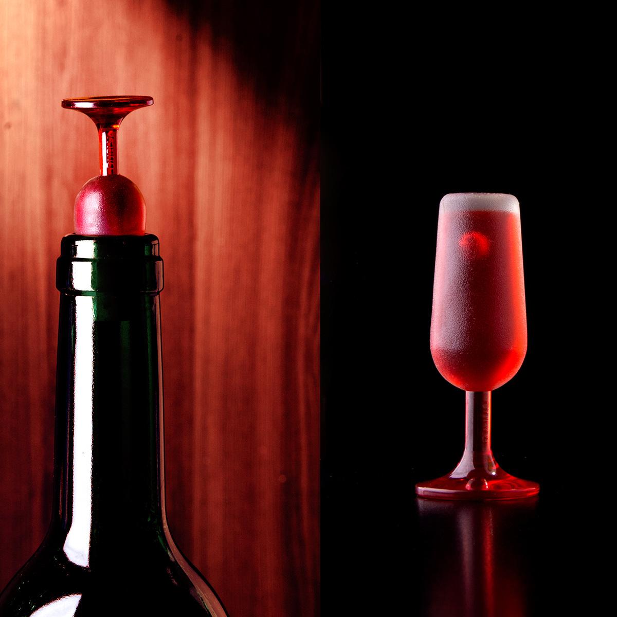 Weinglas Flaschenverschluss 2er Set
