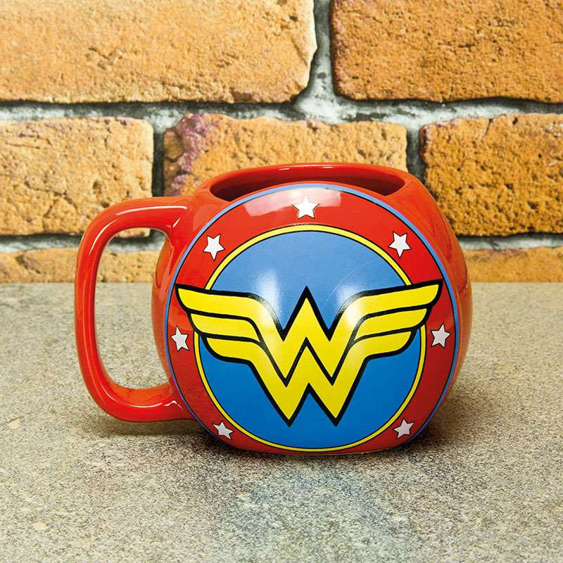 Wonder Woman Schild Tasse