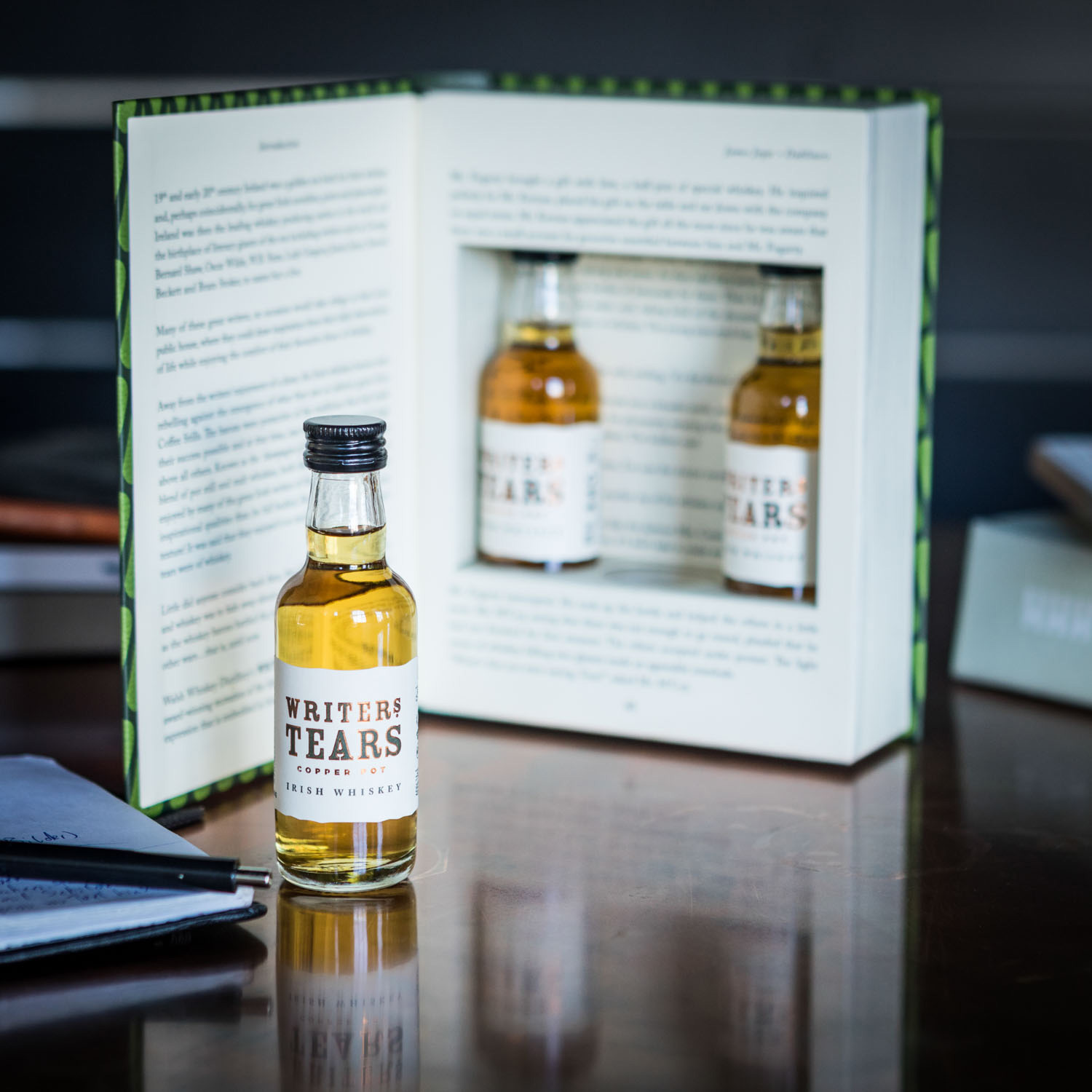 Writers Tears Irish Whiskey Geschenke Set