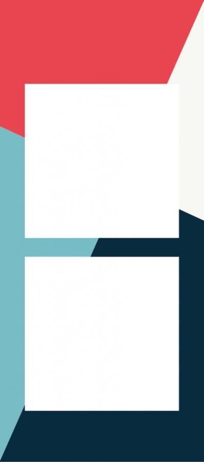 Schlüsselanhänger mit 2 Bildern (KCFOXT) - Blau